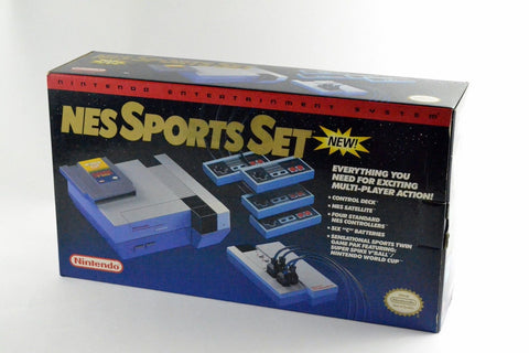 NES Sports Set BOXED COMPLETE    NES PRE-PLAYED HARDWARE