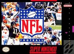 NFL Football DMG LABEL    SUPER NINTENDO ENTERTAINMENT SYSTEM