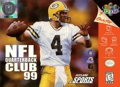 NFL Quarterback Club 99 DMG LABEL    NINTENDO 64