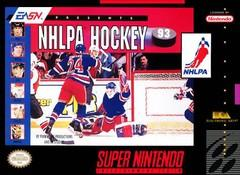 NHLPA Hockey 93 BOXED COMPLETE    SUPER NINTENDO ENTERTAINMENT SYSTEM