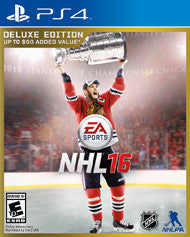 NHL 16 Deluxe Edition    PLAYSTATION 4