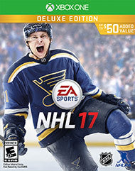 NHL 17 Deluxe Edition    XBOX ONE