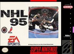 NHL 95 BOXED COMPLETE    SUPER NINTENDO ENTERTAINMENT SYSTEM