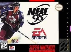 NHL 98 DMG LABEL    SUPER NINTENDO ENTERTAINMENT SYSTEM