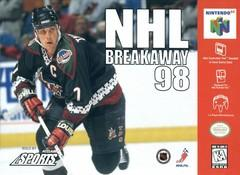 NHL Breakaway 98 DMG LABEL    NINTENDO 64