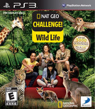 Nat Geo Quiz Wild Life    PLAYSTATION 3