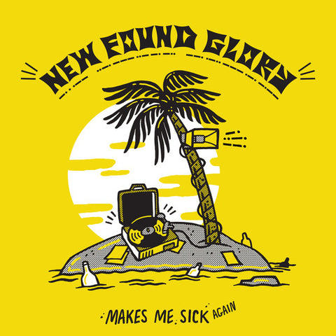 New Found Glory - Makes Me Sick Again (Pink Yellow Vinyl)