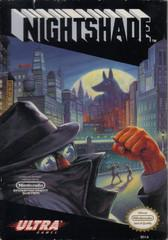 Nightshade     NINTENDO ENTERTAINMENT SYSTEM