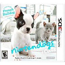 Nintendogs + Cats French Bulldog & New Friends    NINTENDO 3DS