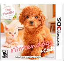 Nintendogs + Cats Toy Poodle & New Friends    NINTENDO 3DS