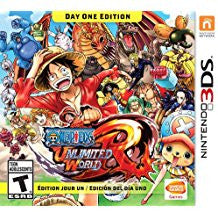 One Piece Unlimited World Red    NINTENDO 3DS