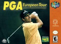PGA European Tour DMG LABEL    NINTENDO 64