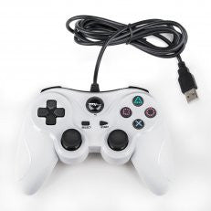 PS3 Wired USB Controller White TTX    PLAYSTATION 3 NEW CONTROLLER