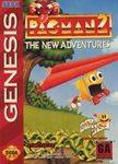 Pac Man 2 The New Adventures DMG LABEL    SEGA GENESIS