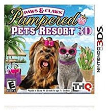 Paws & Claws Pampered Pets Resort 3D    NINTENDO 3DS