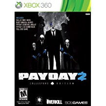 Payday 2 Collectors Edition    XBOX 360