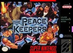 Peace Keepers BOXED COMPLETE    SUPER NINTENDO ENTERTAINMENT SYSTEM