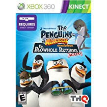 Penguins Of Madagascar Dr Blowhole Returns Again    XBOX 360