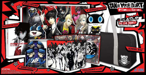 Persona 5 Take Your Heart Edition    PLAYSTATION 4