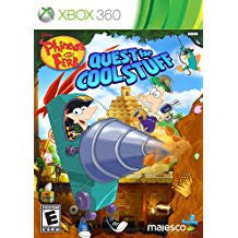 Phineas & Ferb Quest For Cool Stuff    XBOX 360