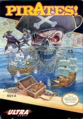 Pirates! DMG LABEL    NINTENDO ENTERTAINMENT SYSTEM