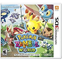 Pokemon Rumble World 3D    NINTENDO 3DS