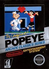 Popeye BOXED COMPLETE    NINTENDO ENTERTAINMENT SYSTEM