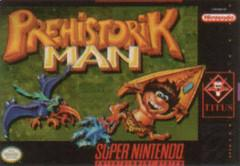 Prehistorik Man BOXED COMPLETE    SUPER NINTENDO ENTERTAINMENT SYSTEM