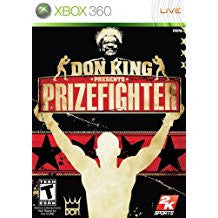 Prize Fighter Don King Presents    XBOX 360