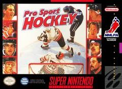 Pro Sport Hockey BOXED COMPLETE    SUPER NINTENDO ENTERTAINMENT SYSTEM