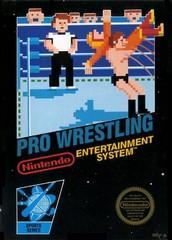 Pro Wrestling DMG LABEL    NINTENDO ENTERTAINMENT SYSTEM