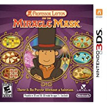 Professor Layton & The Miracle Mask    NINTENDO 3DS