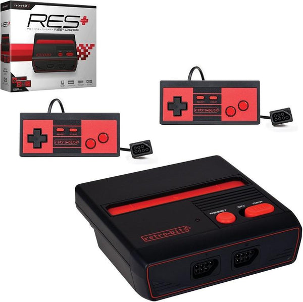 RES Plus Black & Red (NES Console HDMI)    RETRO NEW HARDWARE
