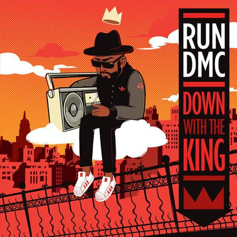 RUN-DMC - DOWN WITH THE KING-7IN