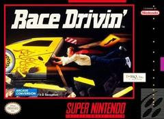 Race Drivin BOXED COMPLETE    SUPER NINTENDO ENTERTAINMENT SYSTEM