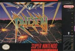 Raiden Trad BOXED COMPLETE    SUPER NINTENDO ENTERTAINMENT SYSTEM