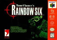 Rainbow Six DMG LABEL    NINTENDO 64