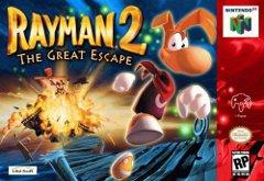 Rayman 2 The Great Escape DMG LABEL    NINTENDO 64