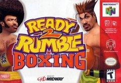 Ready 2 Rumble Boxing DMG LABEL    NINTENDO 64