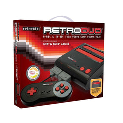 RetroDuo System (Red Black)    RETRO NEW HARDWARE