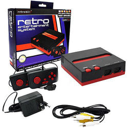 Retro 8-Bit Top Loader (Black Red)    RETRO NEW HARDWARE
