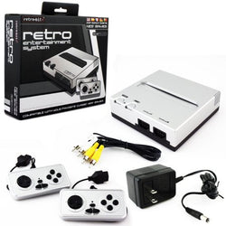 Retro 8-Bit Top Loader (Silver Black)    RETRO NEW HARDWARE