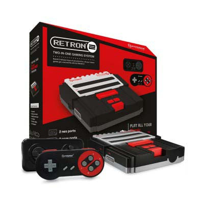 Retron 2 Gaming Console (Black)    RETRO NEW HARDWARE