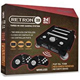 Retron 3 Gaming Console 2.4 GHz Edition (Onyx Black)    RETRO NEW HARDWARE