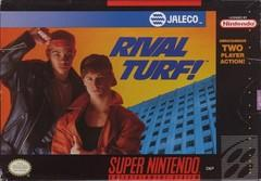 Rival Turf! DMG LABEL    SUPER NINTENDO ENTERTAINMENT SYSTEM