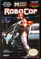 RoboCop DMG LABEL    NINTENDO ENTERTAINMENT SYSTEM