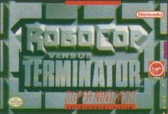 Robocop versus The Terminator DMG LABEL    SUPER NINTENDO ENTERTAINMENT SYSTEM