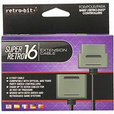 SNES Controller Extension Cord 6 ft    RETRO NEW ACCESSORY