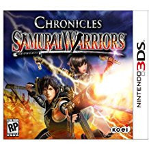 Samurai Warriors Chronicles    NINTENDO 3DS