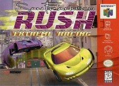 San Francisco Rush DMG LABEL    NINTENDO 64